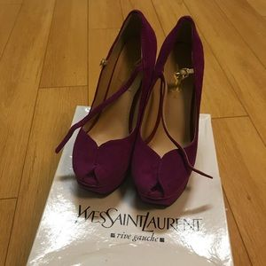 USED YVES SAINT LAURENT shoes